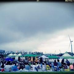 Photo taken at 2012 인천 펜타포트 락 페스티벌 (2012 Incheon Pentaport Rock Festival) by Myunjoong K. on 8/12/2012