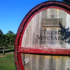 Photo taken at Truro Vineyards of Cape Cod by Luke R. on 9/1/2012