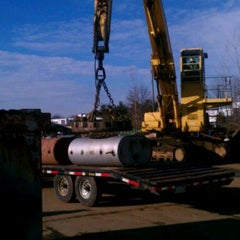Photo taken at Emert Recycling Corp by Mike K. on 1/28/2012