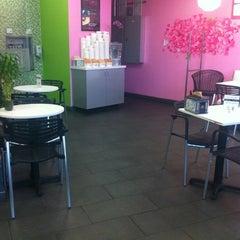 Photo taken at LOVE Frozen Yogurt Bar by Suneel M. on 1/21/2012