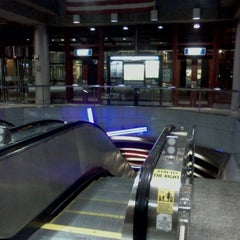 Photo taken at Exchange Place PATH Station by Rob C. on 11/2/2011