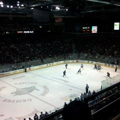 Photo taken at Maverik Center by Zack T. on 1/29/2012