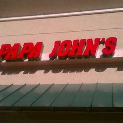 Photo taken at Papa John's Pizza by Nikki N. on 9/26/2011