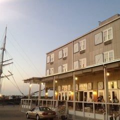 Photo taken at Harbor House Hotel & Marina at Pier 21 by Youngmin P. on 9/8/2012