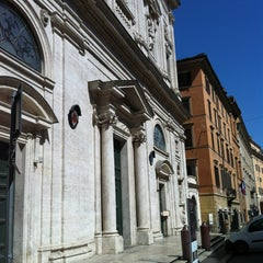 Photo taken at Chiesa di San Luigi dei Francesi by Martina on 7/8/2012