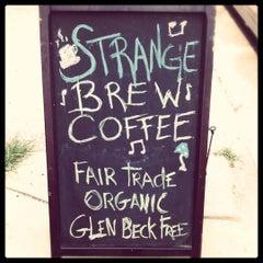 Photo taken at Strange Brew Coffee by Bobby D. on 6/20/2011