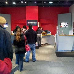 Photo taken at Comcast by Matthew R. on 1/22/2012