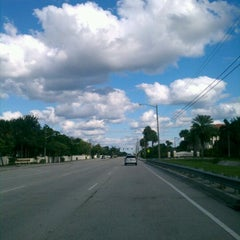 Photo taken at Military Trail & Linton Blvd by Flutterby M. on 10/22/2011