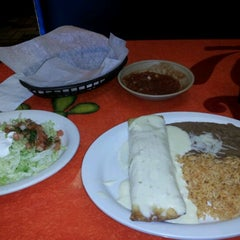 Photo taken at El Meson Mexican Restaurant by Jordan B. on 12/28/2011