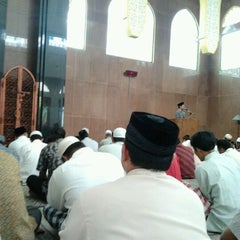 Photo taken at Masjid Baiturrahim by Mokhammad M. on 11/4/2011
