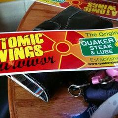 Photo taken at Quaker Steak & Lube® by Karen B. on 5/23/2012
