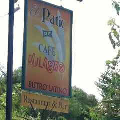 Photo taken at Café Milagro in Manuel Antonio by Saar P. on 11/30/2011