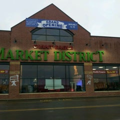 Photo taken at Market District Supermarket by M L. on 1/12/2012