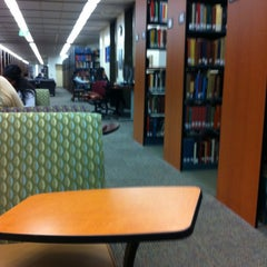 Photo taken at Langson Library (LLIB) by Natalie B. on 3/6/2012