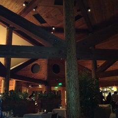 Photo taken at The Restaurant at Ventana Inn by Lara W. on 9/8/2012