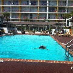 Photo taken at El Tropicano Hotel by Ramiro R. on 7/14/2012