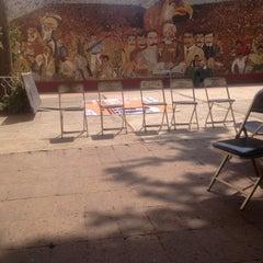 Photo taken at Centro Cultural Jesús Romero Flores by Felix on 3/3/2012