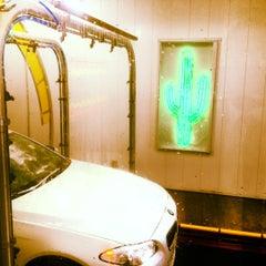 Photo taken at Cactus Car Wash - Marietta/East Cobb by Jason W. on 4/12/2012