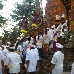 Photo taken at Pura Pengrebongan by Gung I. on 9/10/2012