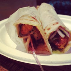 Photo taken at The Kati Roll Company by Robin S. on 5/26/2012