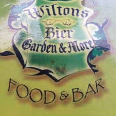 Photo taken at Wilton's Bier Garden by Rory C. on 6/17/2012