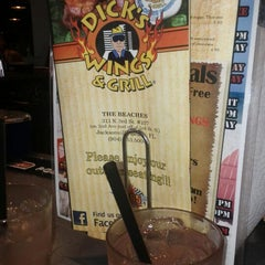 Photo taken at Dick's Wings & Grill by Krysten J. on 5/1/2012