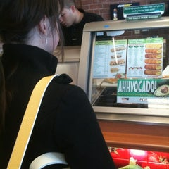 Photo taken at SUBWAY by Peter M. on 3/20/2012