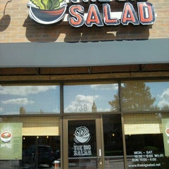 Photo taken at The Big Salad by Stacee M. on 8/5/2012
