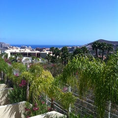 Photo taken at Oasis Golf Resort Hotel Tenerife by Jen on 6/17/2012