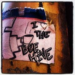 Photo taken at Beehive Coffeehouse by Jeff R. on 6/25/2012