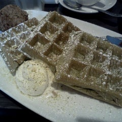 Photo taken at Waffles by Traci I. on 9/2/2012
