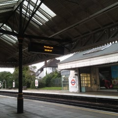 Photo taken at Boston Manor London Underground Station by Jon B. on 6/22/2012