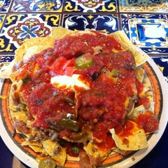 Photo taken at Rosa's Cafe Tortilla Factory by Mandy M. on 9/22/2011