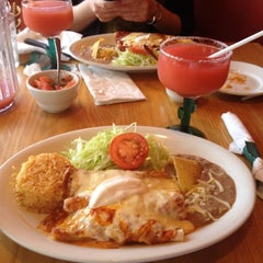 Photo taken at Pancho Pistolas by Guadalupe C. on 5/15/2012