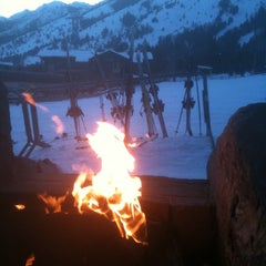 Photo taken at The Peak at Four Seasons Jackson Hole by Rose C. on 2/6/2012