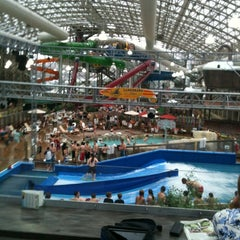 Photo taken at Jay Peak Pump House Waterpark by Trey A. on 4/21/2012