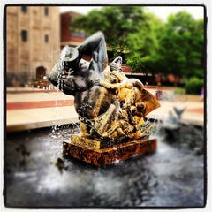 Photo taken at Burton Memorial Tower by Jim S. on 5/26/2012