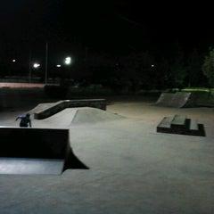 Photo taken at Parque Municipal Las Albercas by Francisco José S. on 8/29/2012