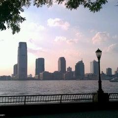 Photo taken at Hudson River Promenade by Hana M. on 9/13/2011