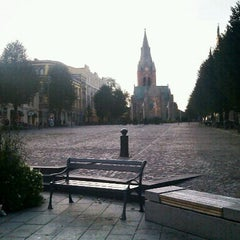 Photo taken at Stortorget by Daniel A. on 10/8/2011