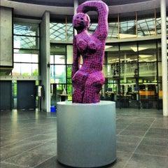 Photo taken at Deutsche Nationalbibliothek by Martina N. on 6/4/2012