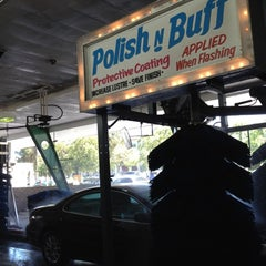 Photo taken at Lozano Brushless Car Wash by John J. on 6/30/2012