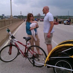 Photo taken at Ciclovia de Dallas by Evie M. on 4/14/2012
