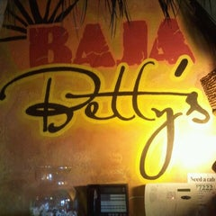 Photo taken at Baja Betty's by Miro D. on 8/13/2011