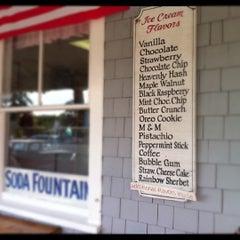 Photo taken at Ocean Park Soda Fountain by Ann H. on 7/8/2011