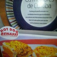 Photo taken at Hot Dog Benassi by jefferson s. on 4/2/2012