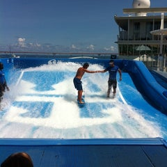 Photo taken at Royal Caribbean Oasis of the Seas by Adam K. on 7/30/2011