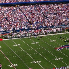 Photo taken at Ralph Wilson Stadium by Tim B. on 10/9/2011