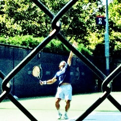 Photo taken at Practice Courts (1-5) - USTA Billie Jean King National Tennis Center by Lisa P. on 8/30/2012