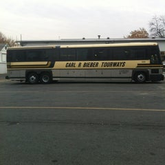 Photo taken at Bieber Bus Terminal by Zachary M. on 11/14/2011